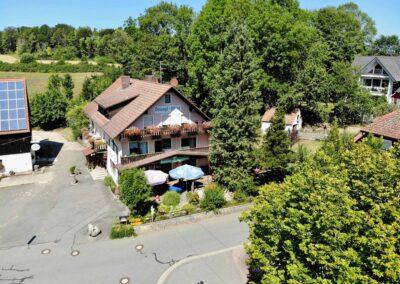 Luftaufnahme Signalstein - Stanglwirt - Ihr Gasthof für Fränkische Küche